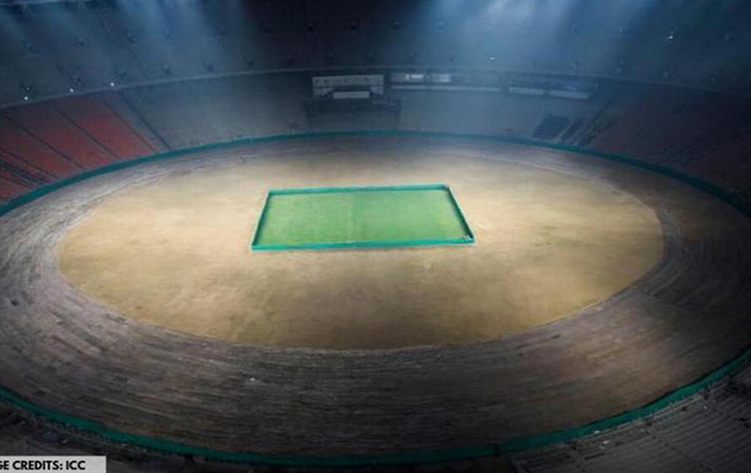 ICC Gives Cricket Fans First Look Of The World's LARGEST Cricket Stadium In Ahmedabad